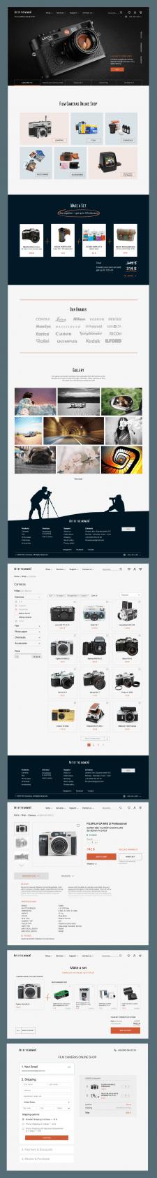 """Internet shop """"Film cameras online shop"""""""