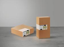 Наклейка на коробку товару