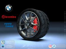 Колесо Toyo Tires и шины Proxes r888