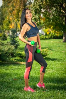 Фотосессия фитнес-группы Анны Вировой