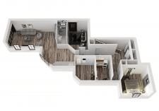 3д планировка дома