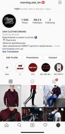 Продвижение бренда одежды