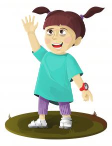 Ілюстрація персонажа під анімацію