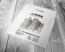 Дизайн фирменного пакета. ЭСКО Киев