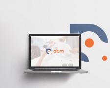 """Логотип інтернет-магазину """"ATM"""""""