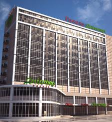 Визуализация фасада гостиницы «Дністер»