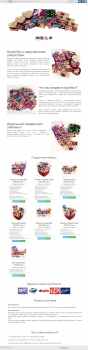 Сайт подарочных наборов сладостей