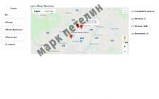 Скрипт навигации по городам и улицам Google Map