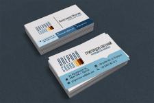Разработка визитки для торгующей организации