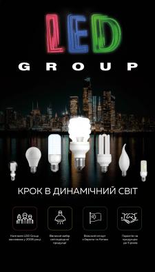 Баннер магазина ламп