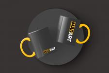 Оформление чашек для печати + разработка лого