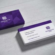 Дизайн визитки для Quimnata