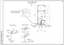План будівлі з інженерними системами