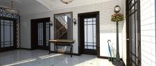 Дизайн интерьера коридора-прихожей