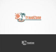 """Логотип """"TravelZone"""""""