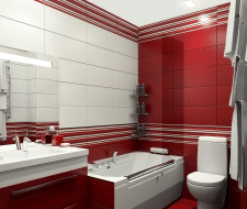 Дизайн интерьера санузла