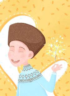 Новогодняя иллюстрация