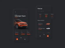 Дизайн мобильного приложения по продаже атвомобиле
