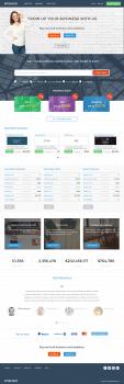 Дизайн сайта по покупке и продаже доменных имен