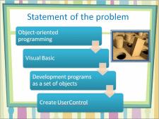 visual basic - презентация научной работы