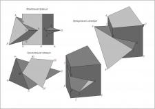 Гранные тела аксонометрии