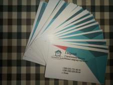 Создание дизайна визитки для частных строителей