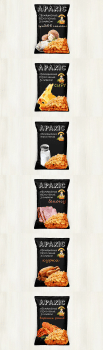 Дизайн упаковок арахиса