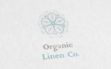 Logotype for Organic Linen Company