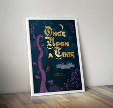 Постер в сказочном стиле