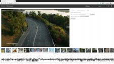 HTML-плеєр: кадри, повзунок, рівні звуку
