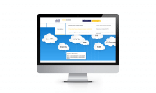 Адаптивний сайт компанії з хмарних технологій