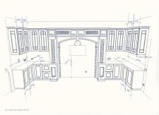 Разработка чертежа кухни под индивидуальный проект