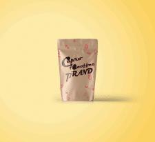 Дизайн упаковки Capro Coffee Brand