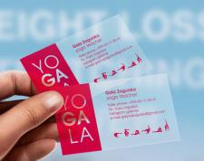 Визитка йога-студии