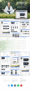 Dojanga — соц. сеть для тхеквондистов