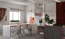 Проект офиса в современном стиле