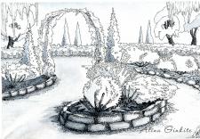 Ландшафтный дизайн, графика