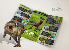 Dino T-Rex Toy brochure for Lifeliko
