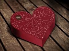 Создание визуалицации упаковки шоколадных конфет