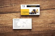 Визитки для строительной компании