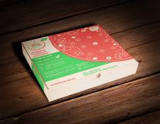 Разработка упаковки для пиццы