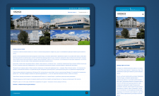 Сайт компании по аренде