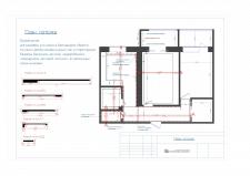 План потолка с разрезами