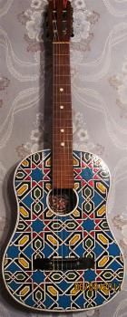Гитара в марокканском стиле
