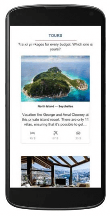 Туристический сайт на Wordpress