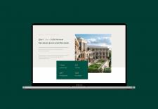 Дизайн минималестичного премиального сайта