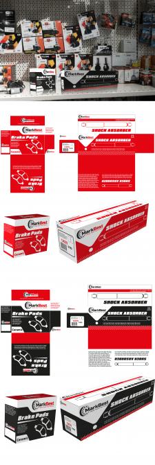 Дизайн упаковки для автозапчастей