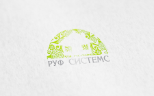 """Логотип кровельной компании """"РуфСистемс"""""""