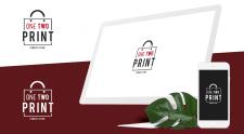 "Logo ""One Two Print"""