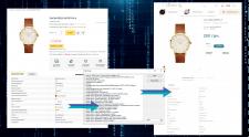 Парсинг данных для магазина часов